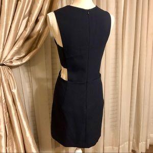 Milly of New York Dresses - EUC MILLY Italian Cady Black Cutout Mini Dress